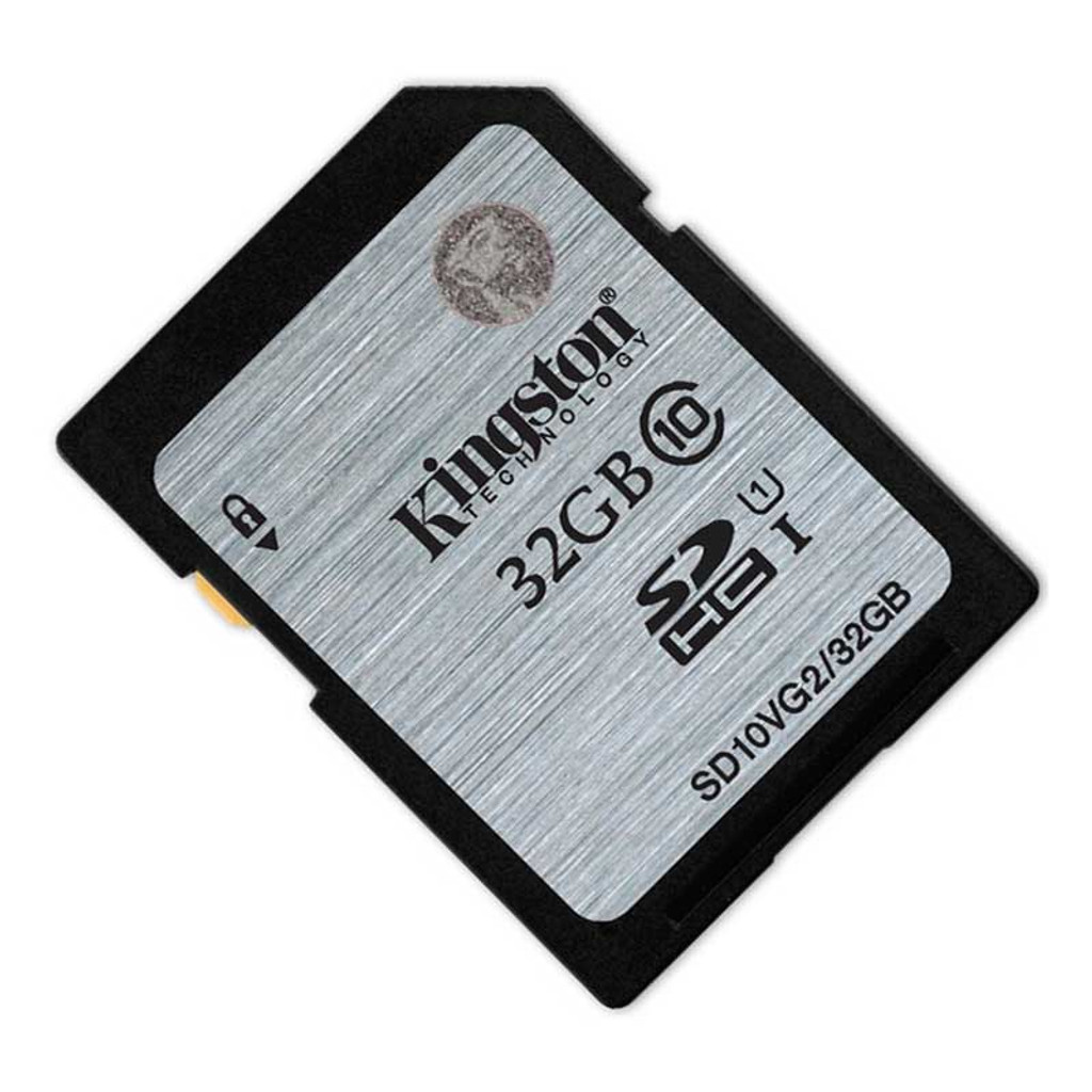 Kingston 32GB SDHC Class 10 Memory Card 80MB/S