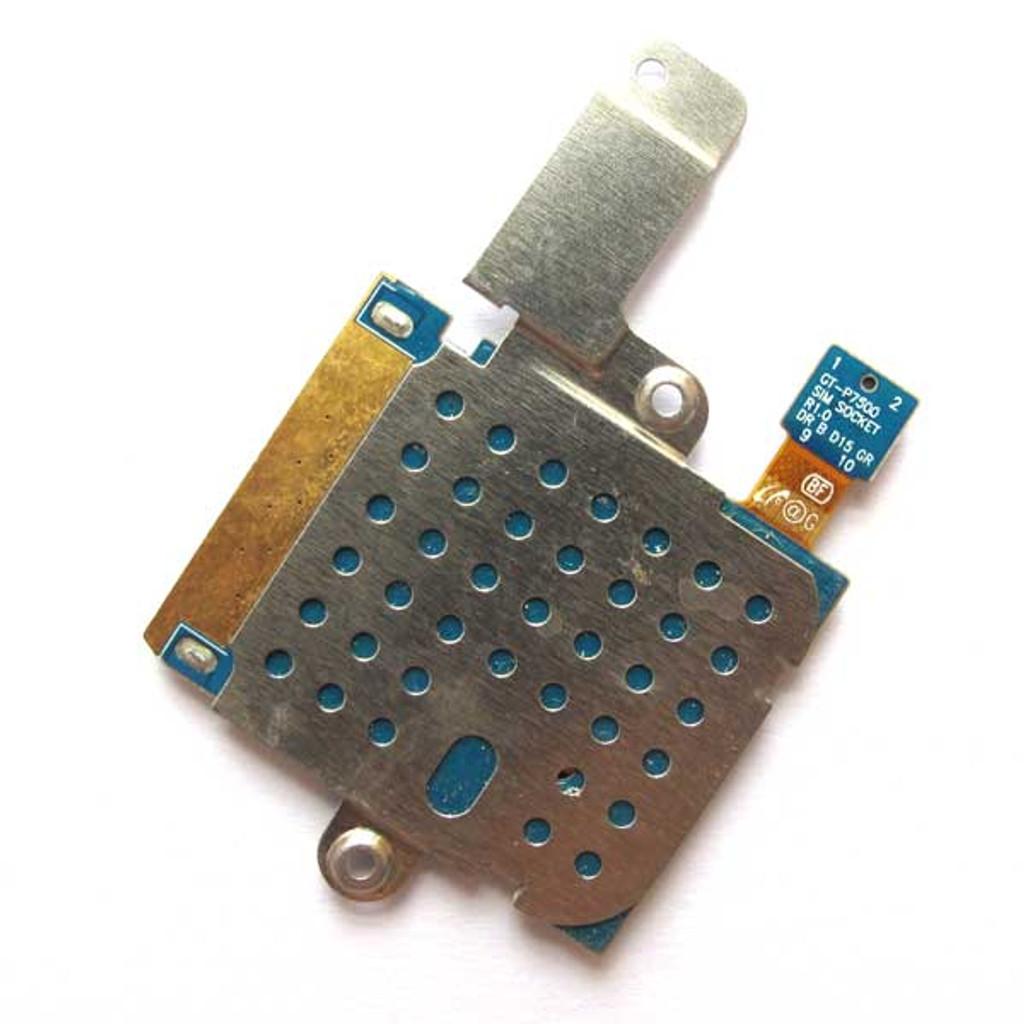 Samsung P7500 Galaxy Tab 10.1 3G SIM Holder Flex Cable