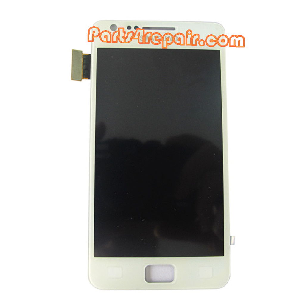 Complete Screen Assembly for Samsung I9100 Galaxy S II -White