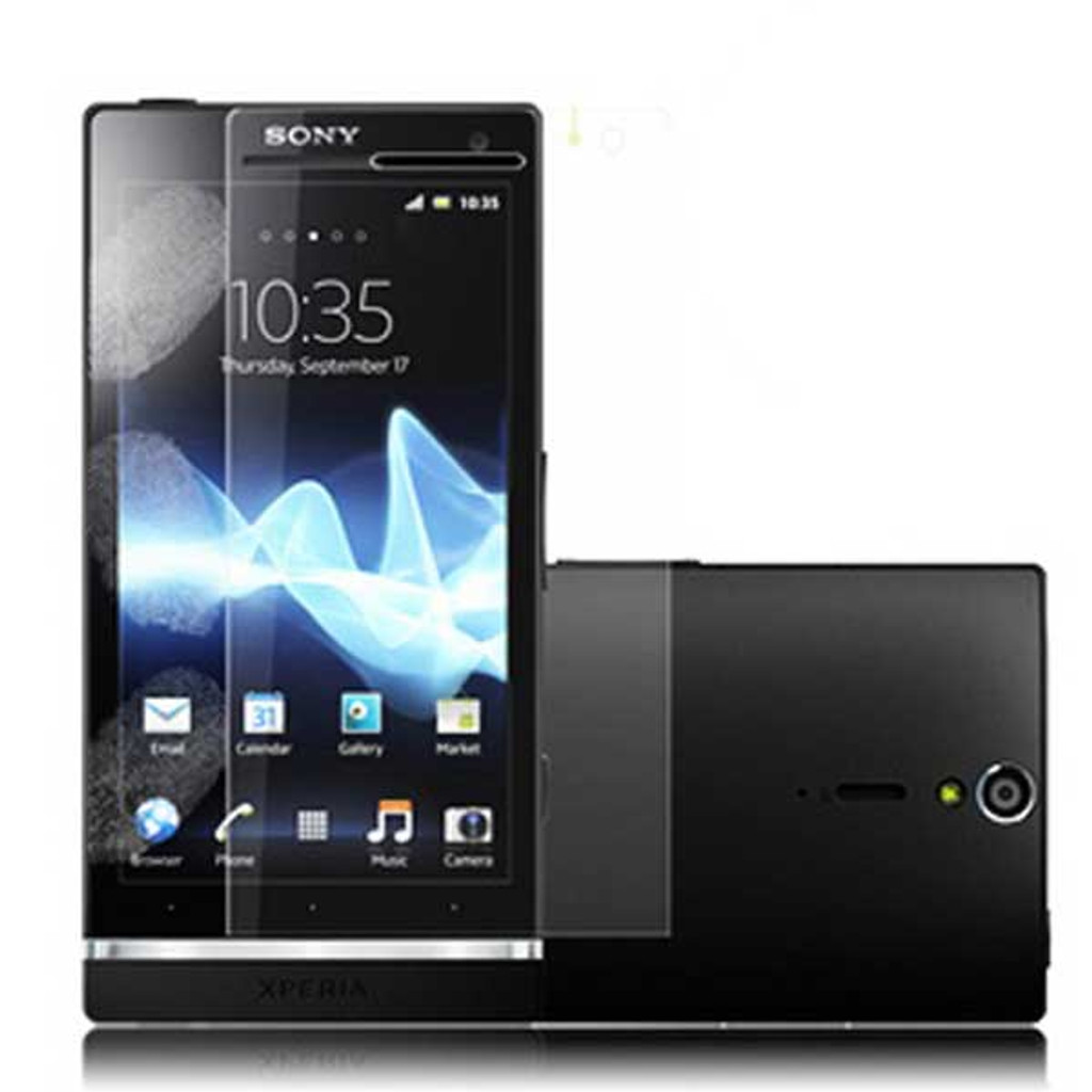 Sony Xperia S Clear Screen Protector Shield Film -3X from www.parts4repair.com