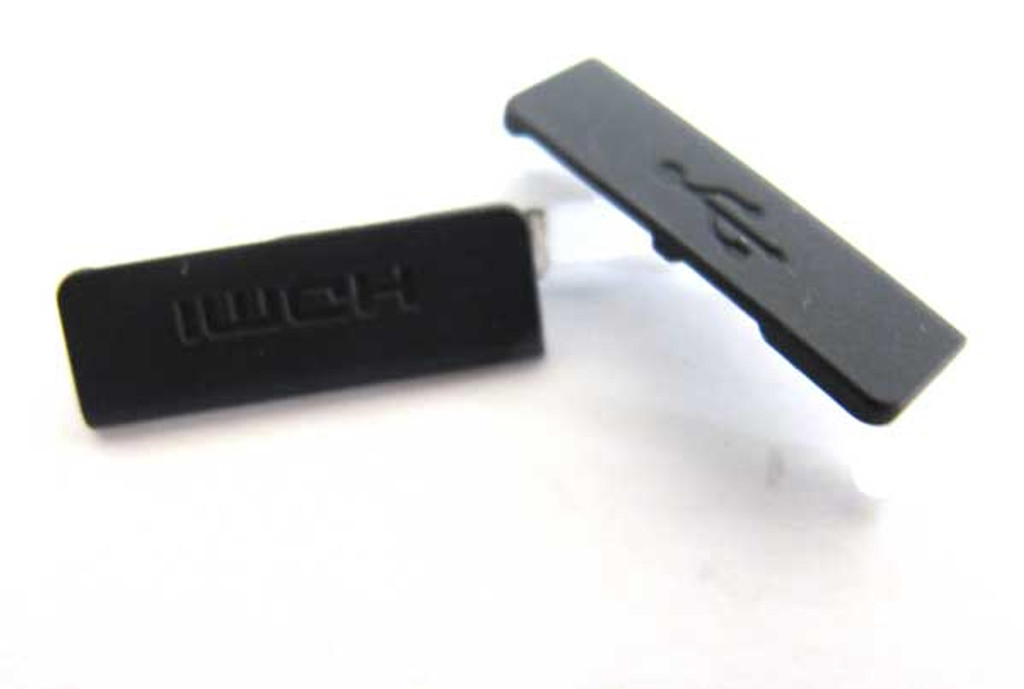 Sony Xperia S USB Cover + HDMI Cover -Black from www.parts4repair.com