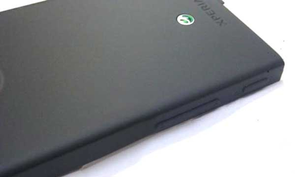 Battery Cover for Sony Xperia Sola -Black