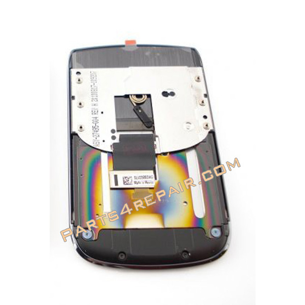 BlackBerry Torch 9810 Complete Screen Assembly with Beze (001 Version) from www.parts4repair.com