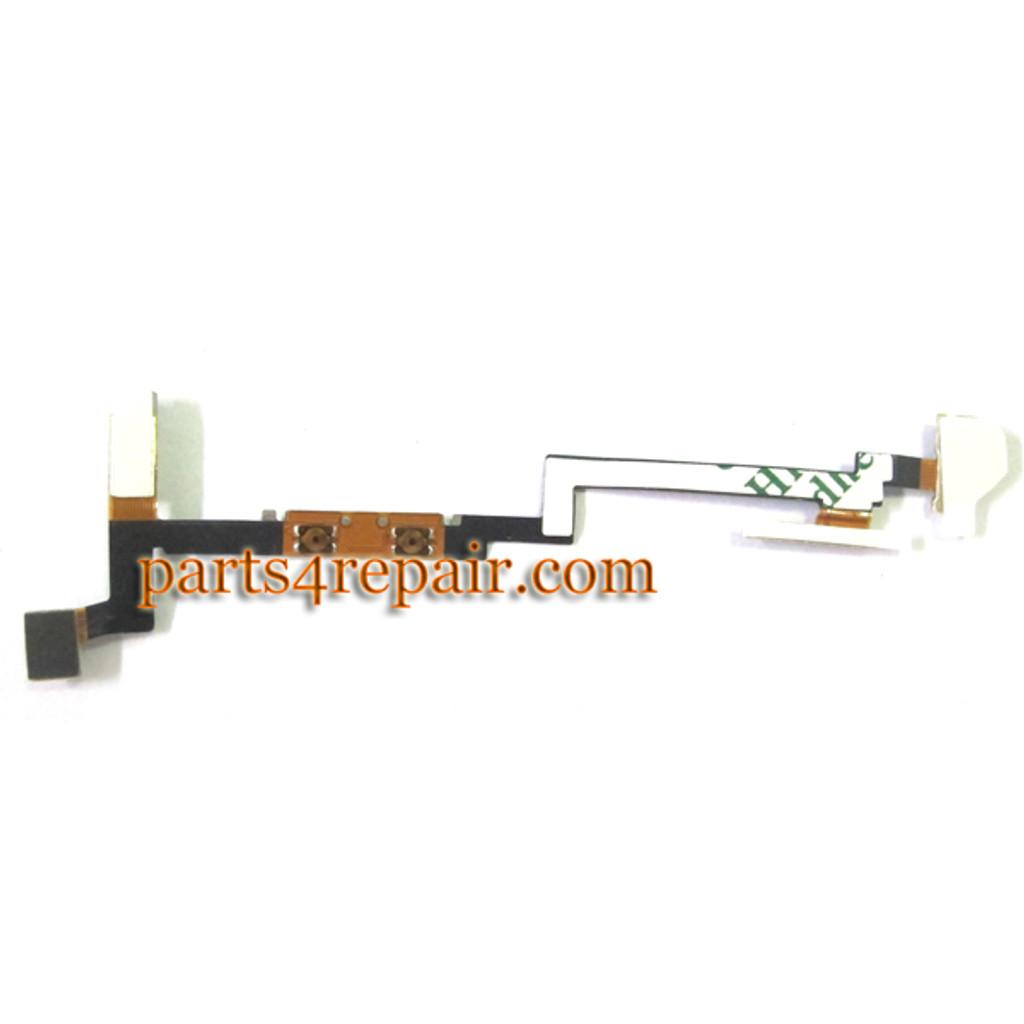 Sony Xperia go ST27i Volume Flex Cable with Vibrator