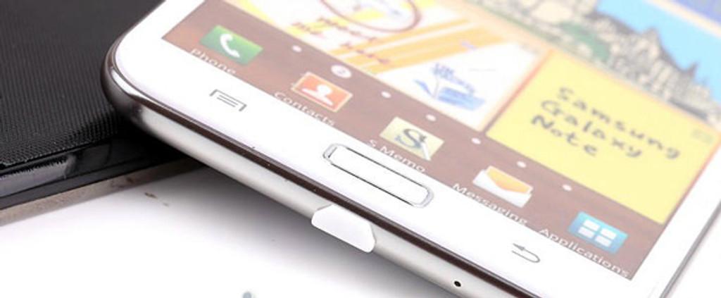 Samsung Universal Dock Cover + Headphone Dust Cap -White