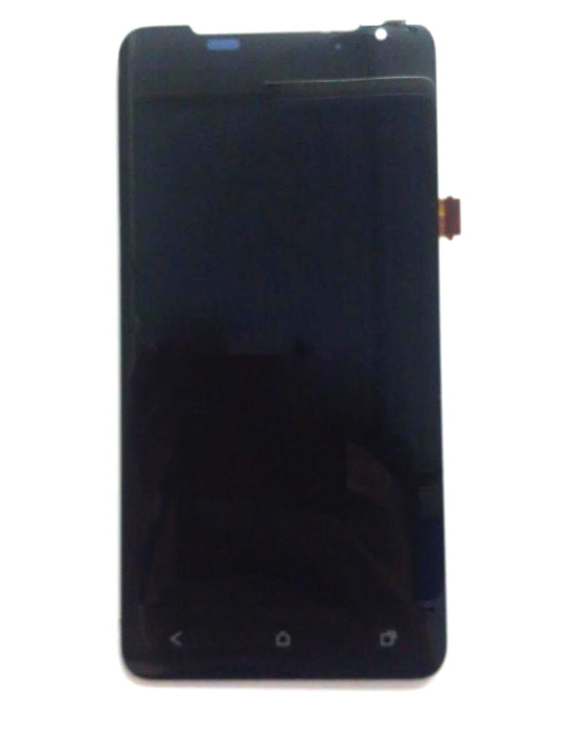 HTC J Z321E Complete Screen Assembly without Bezel -Black from www.parts4repair.com