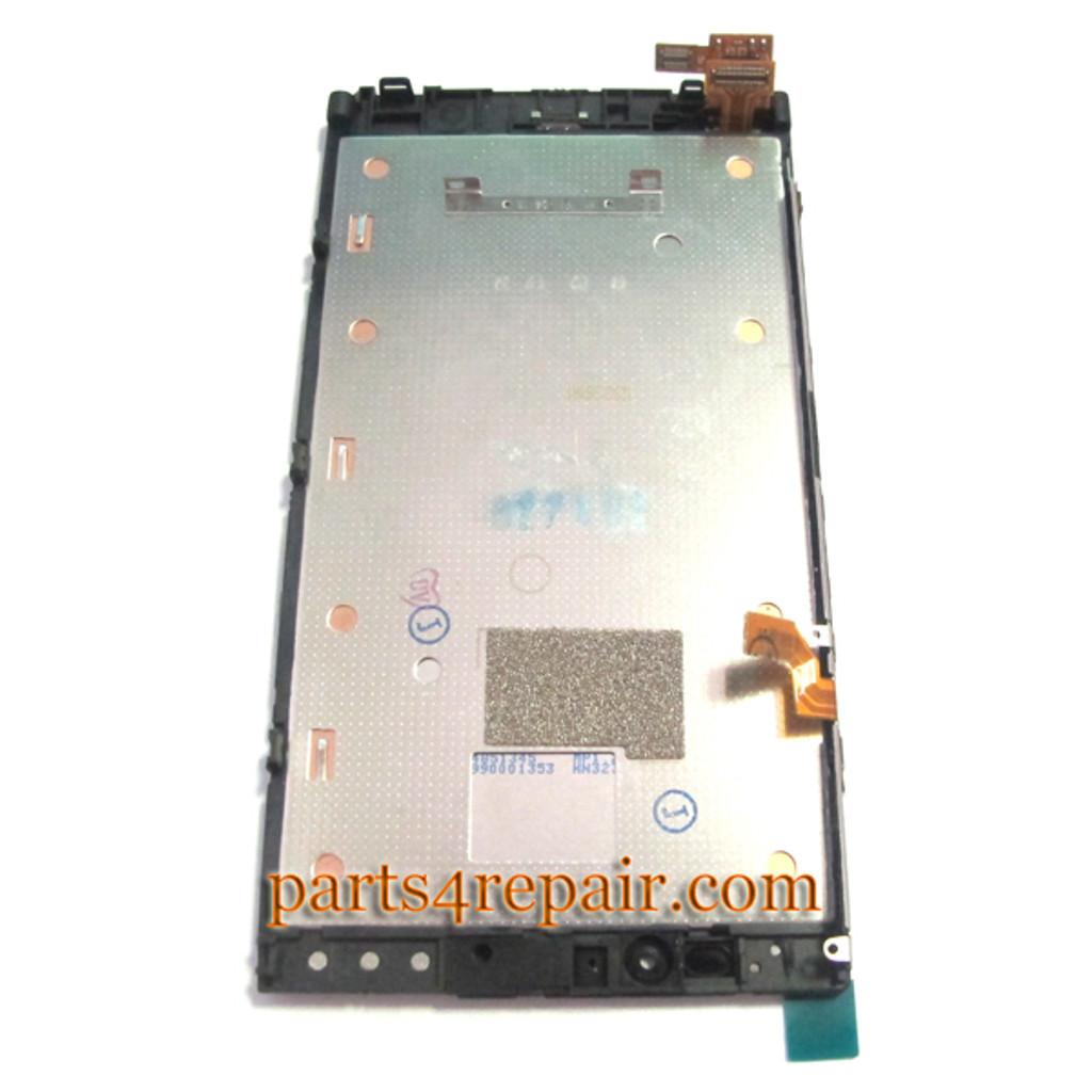 Nokia Lumia 920 Full Screen Assembly with Bezel