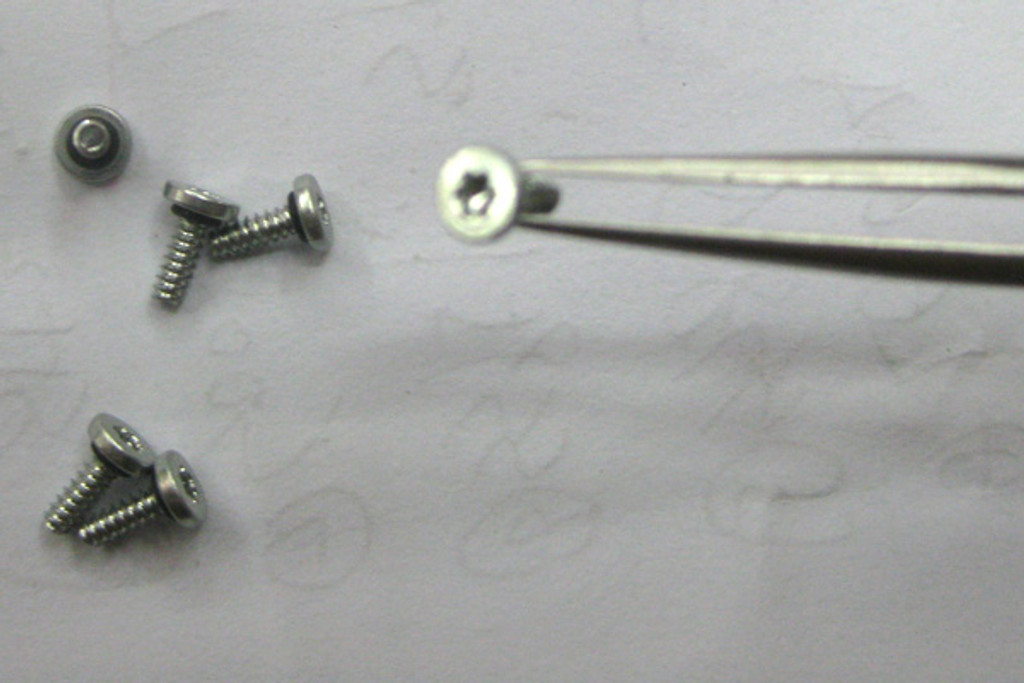 Sony Xperia acro S LT26W a full set of Screws (6pcs) from www.parts4repair.com
