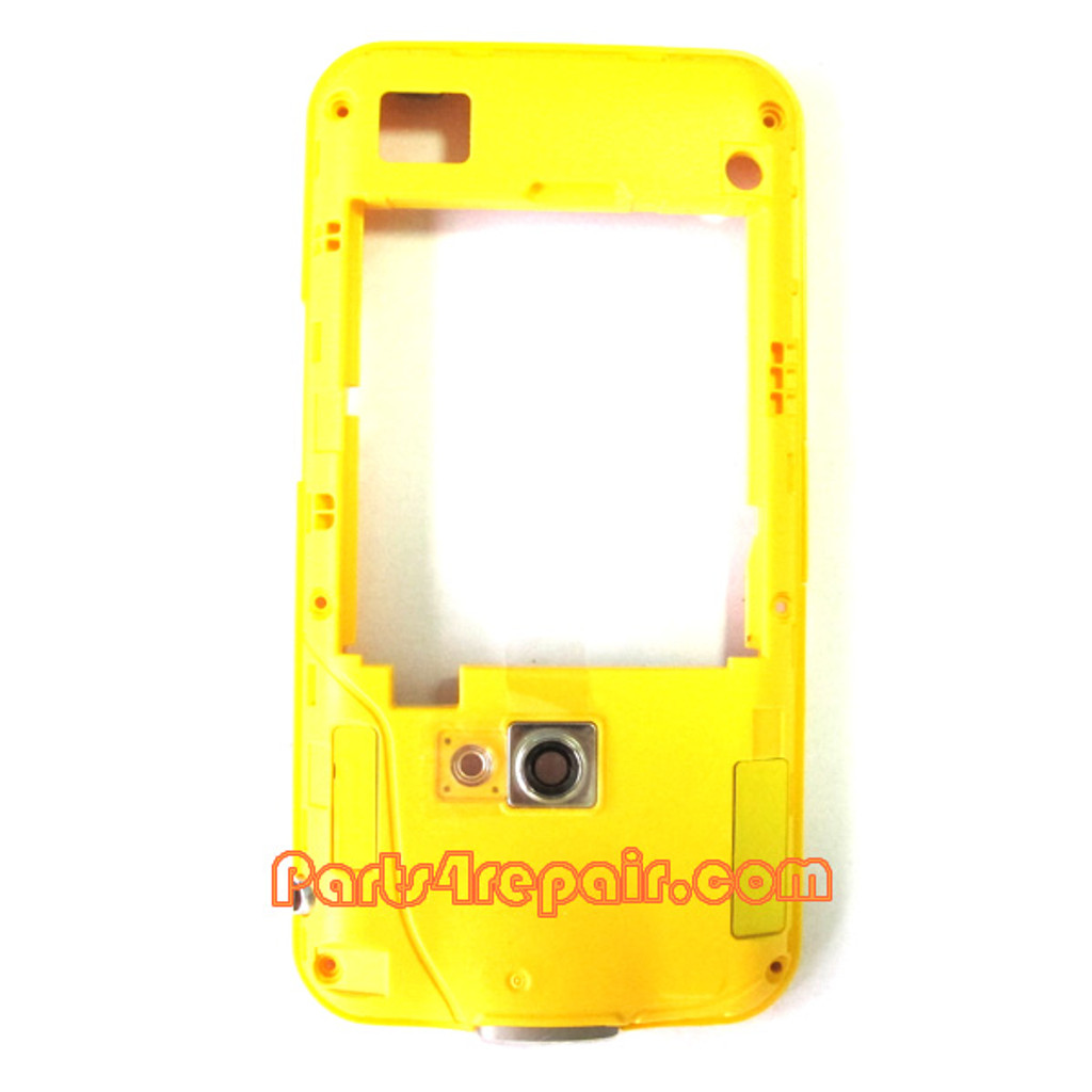 Samsung I8530 Galaxy Beam Middle Cover -White from www.parts4repair.com