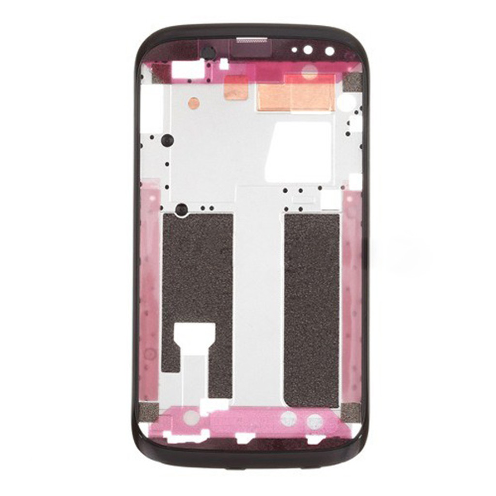HTC Desire V Front FacePlate Cover -Black from www.parts4repair.com