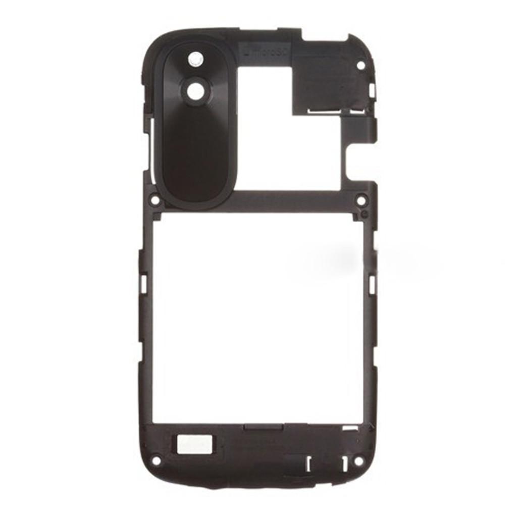 HTC Desire V Middle Cover -Black