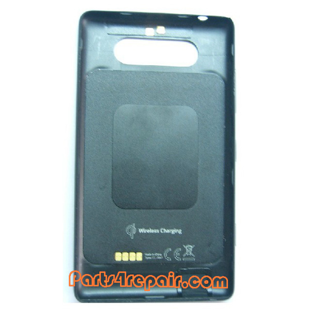 Back Cover with NFC for Nokia Lumia 820 -Black