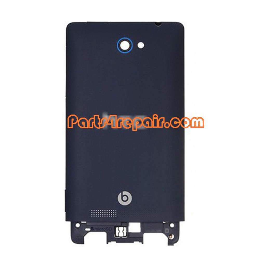 Battery Cover for HTC Windows Phone 8S -Blue