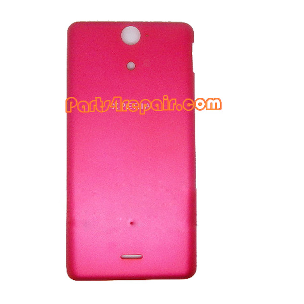 Back Cover for Sony Xperia V LT25 -Red