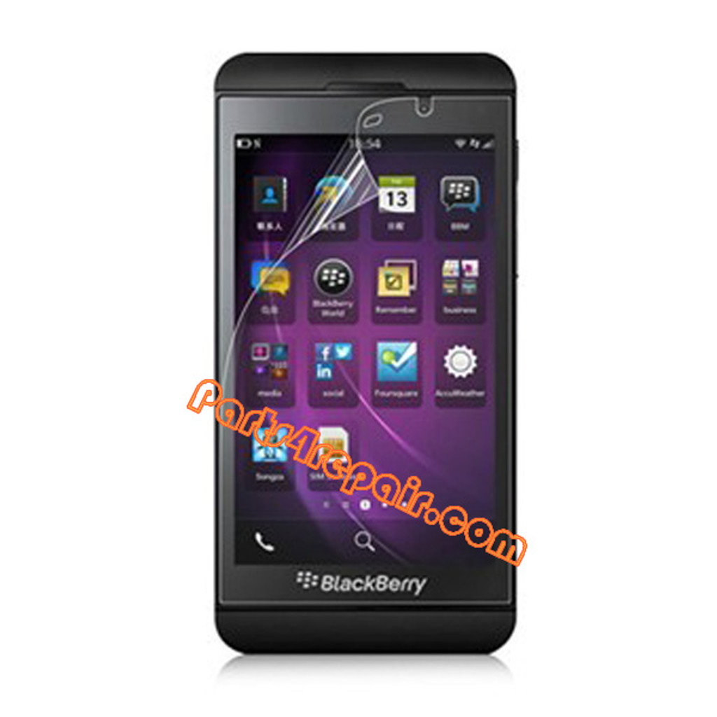Clear Screen Protector Shield Film for BlackBerry Z10