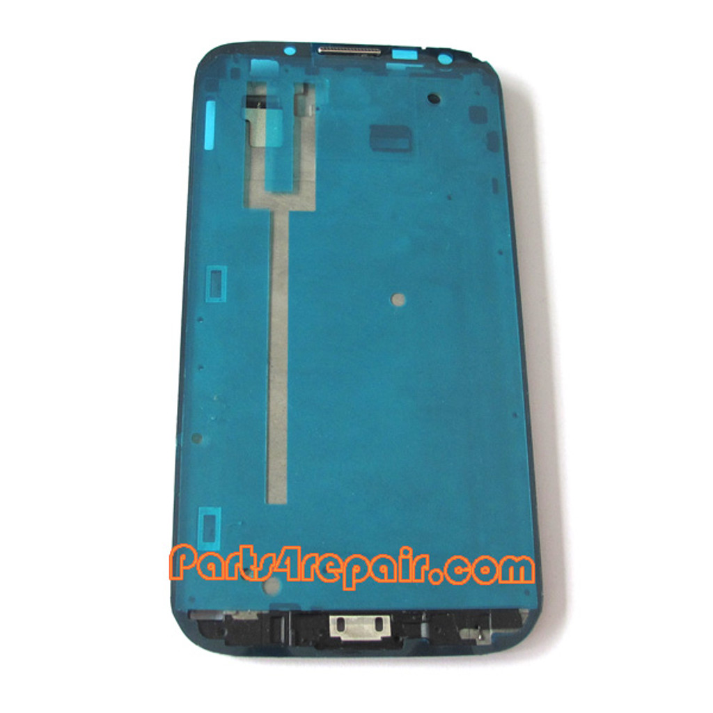 Samsung Galaxy Note II N7100 Front Faceplate for LCD Screen from www.parts4repair.com