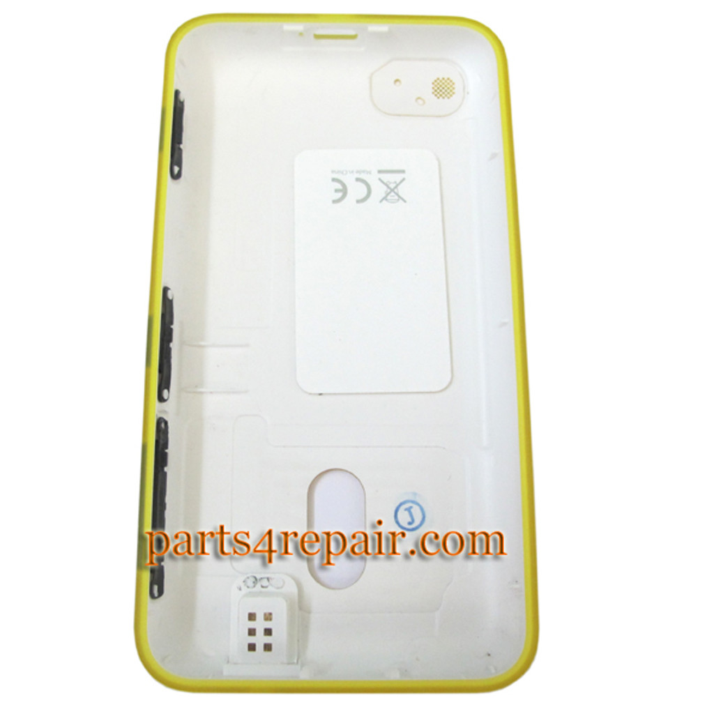 Back Cover for Nokia Lumia 620 -Yellow