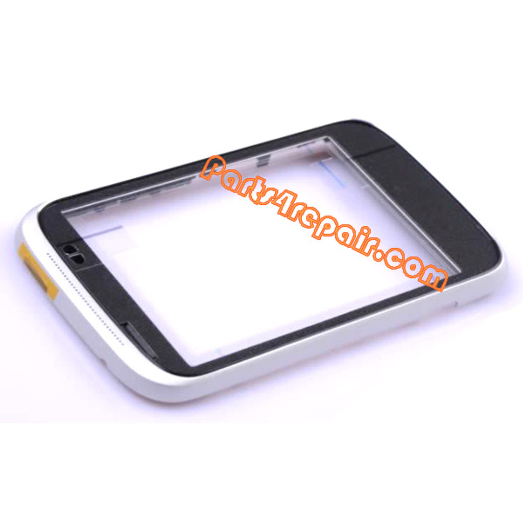 Front Housing Cover for HTC Desire C -Silver from www.parts4repair.com