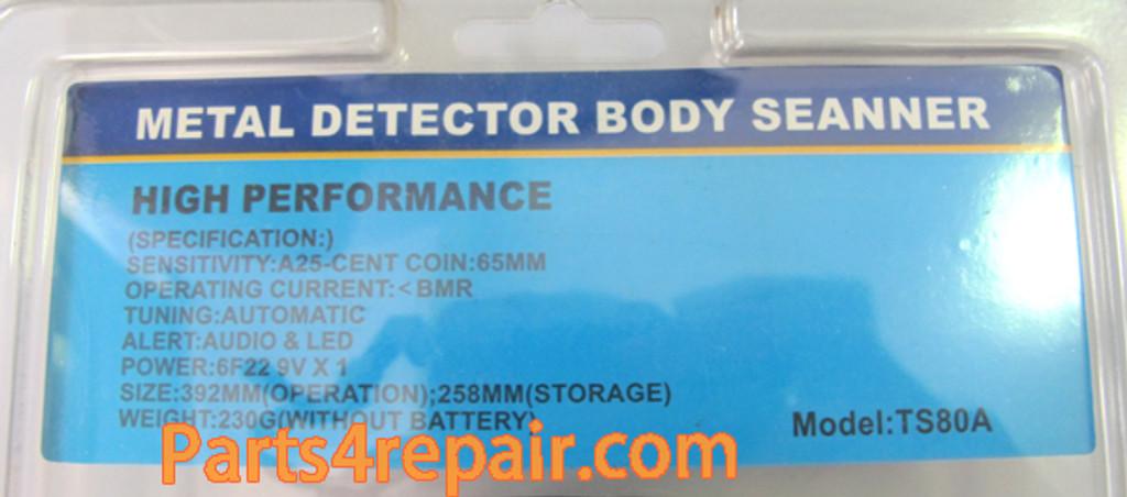Portable Hand Held Type Security Metal Detector
