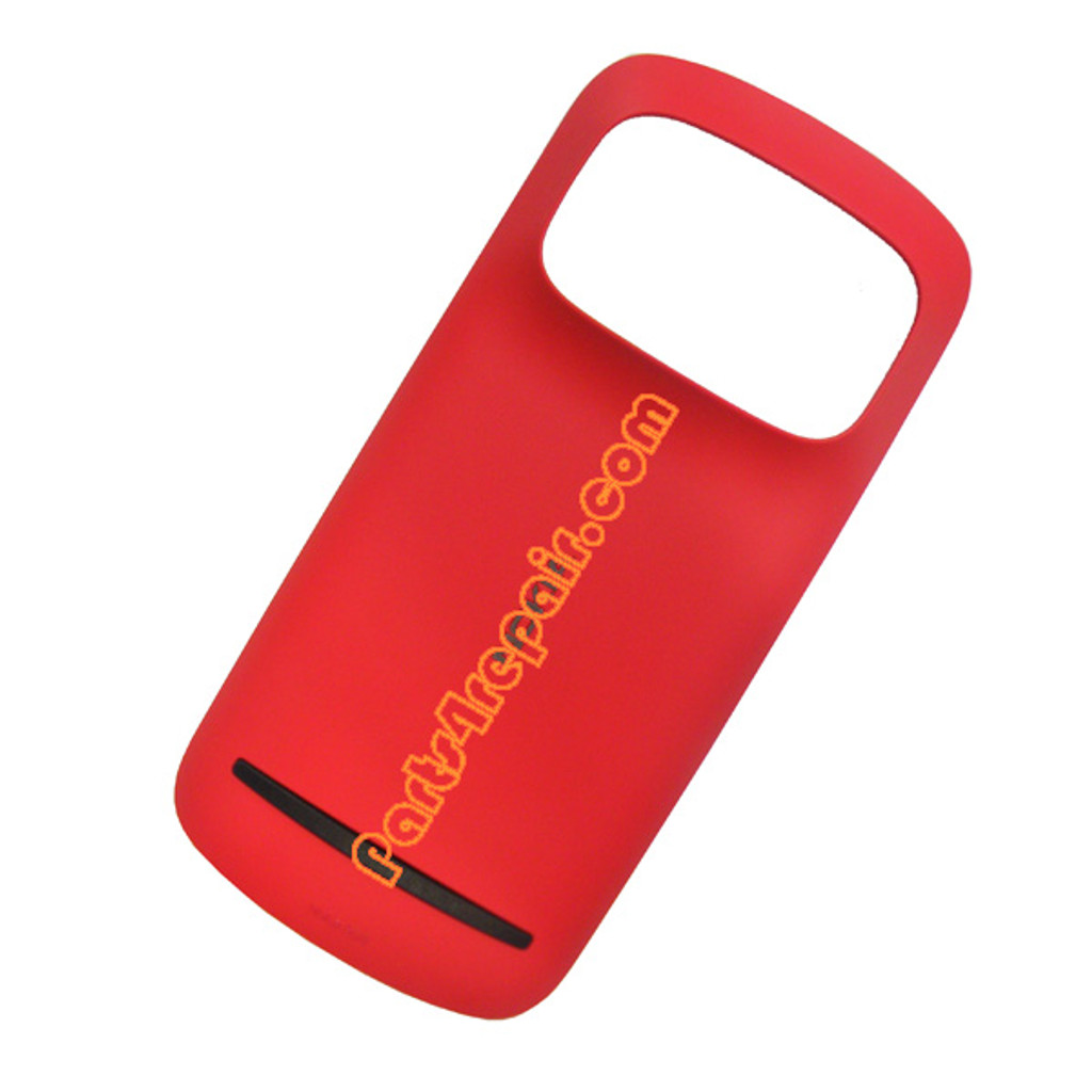 Back Cover with NFC for Nokia 808 Pureview -Red from www.parts4repair.com