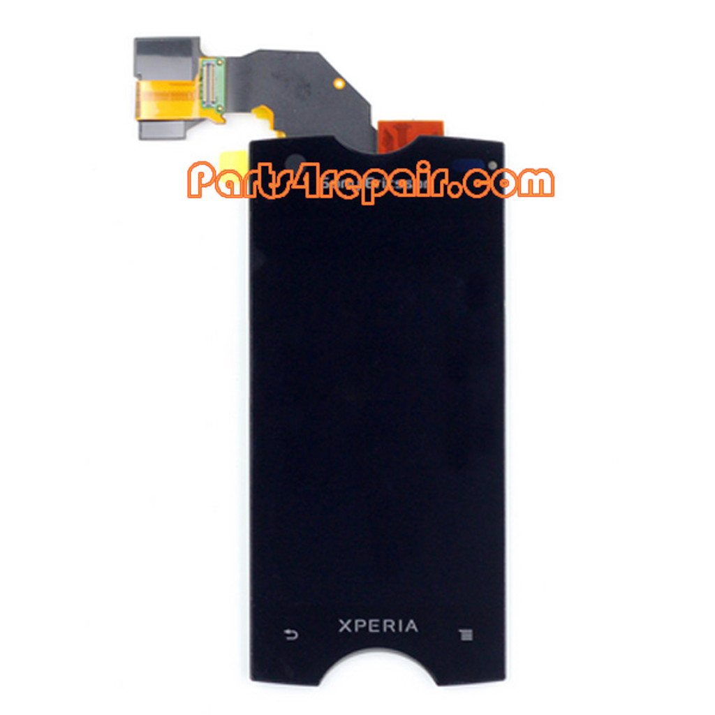 Complete Screen Assembly for Sony Ericsson Xperia Ray ST18I from www.parts4repair.com