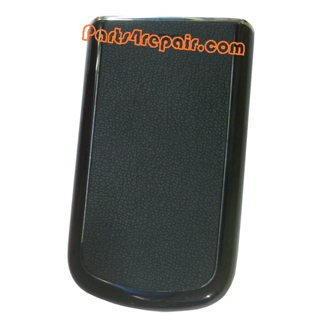 Battery Cover Leather Style for Nokia 8800 Arte Black