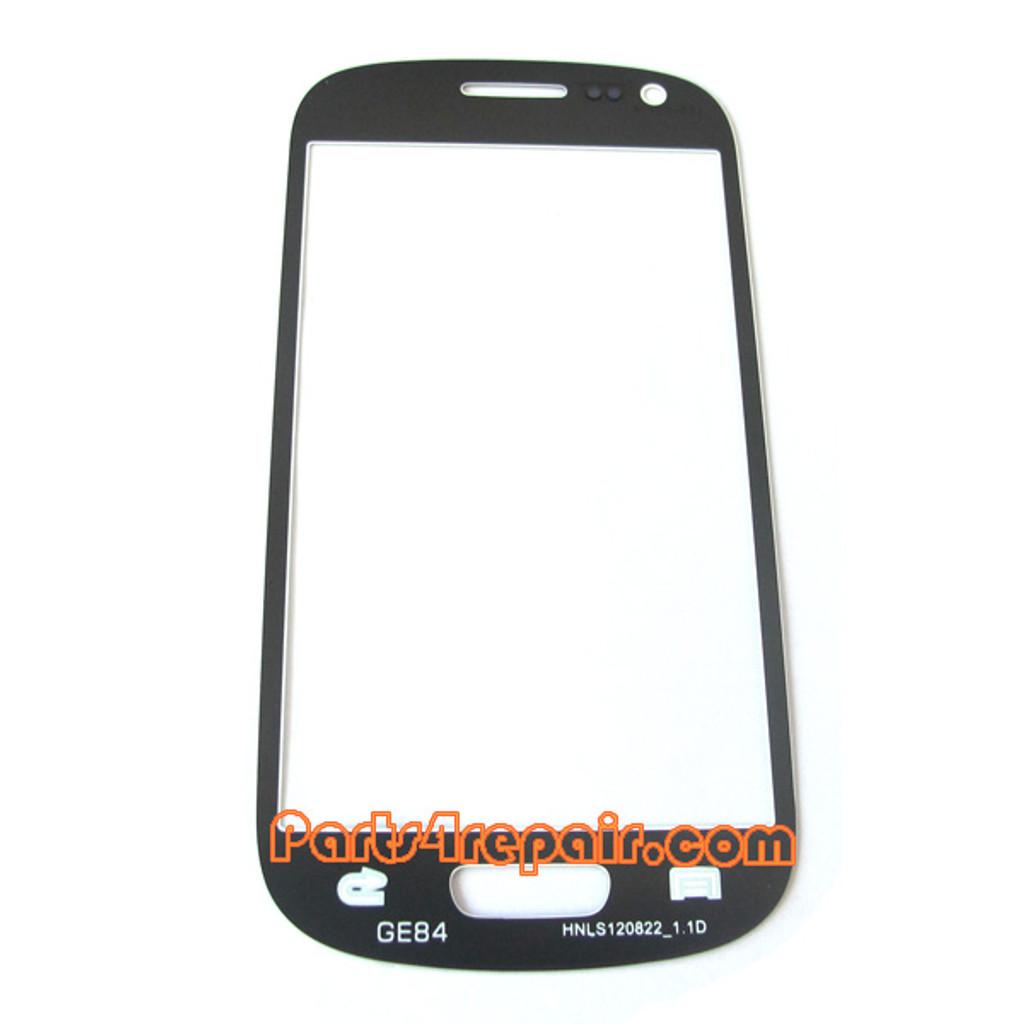 Glass Lens OEM for Samsung I8190 Galaxy S III mini -White