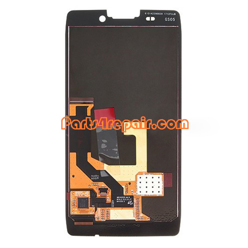 Complete Screen Assembly for Motorola RAZR HD XT925 -Black