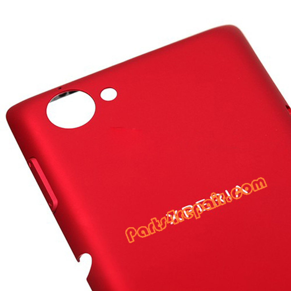 Back Cover for Sony Xperia L S36H -Red