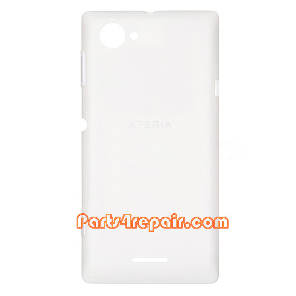 Back Cover for Sony Xperia L S36H -White from www.parts4repair.com