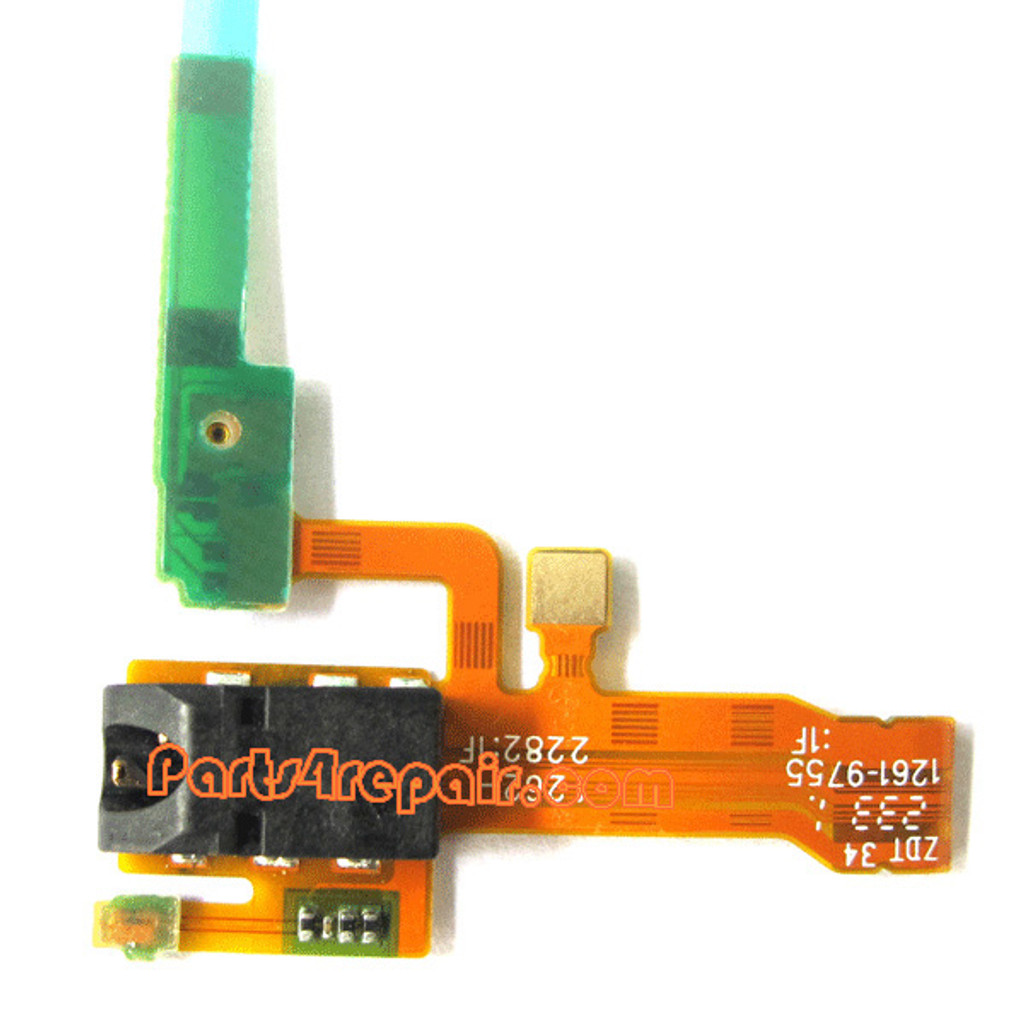Earphone Jack Flex Cable for Sony Xperia ZL L35H from www.parts4repair.com