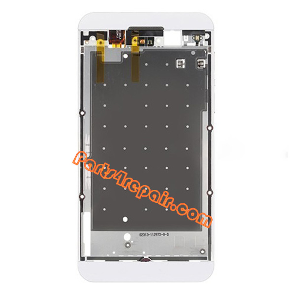 Middle Plate for BlackBerry Z10 4G -White