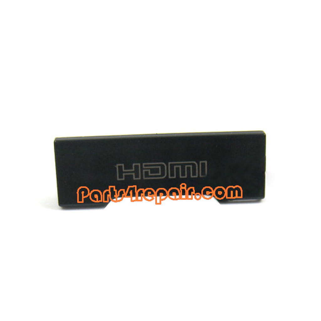 HDMI Cover for Nokia N8 -Black from www.parts4repair.com