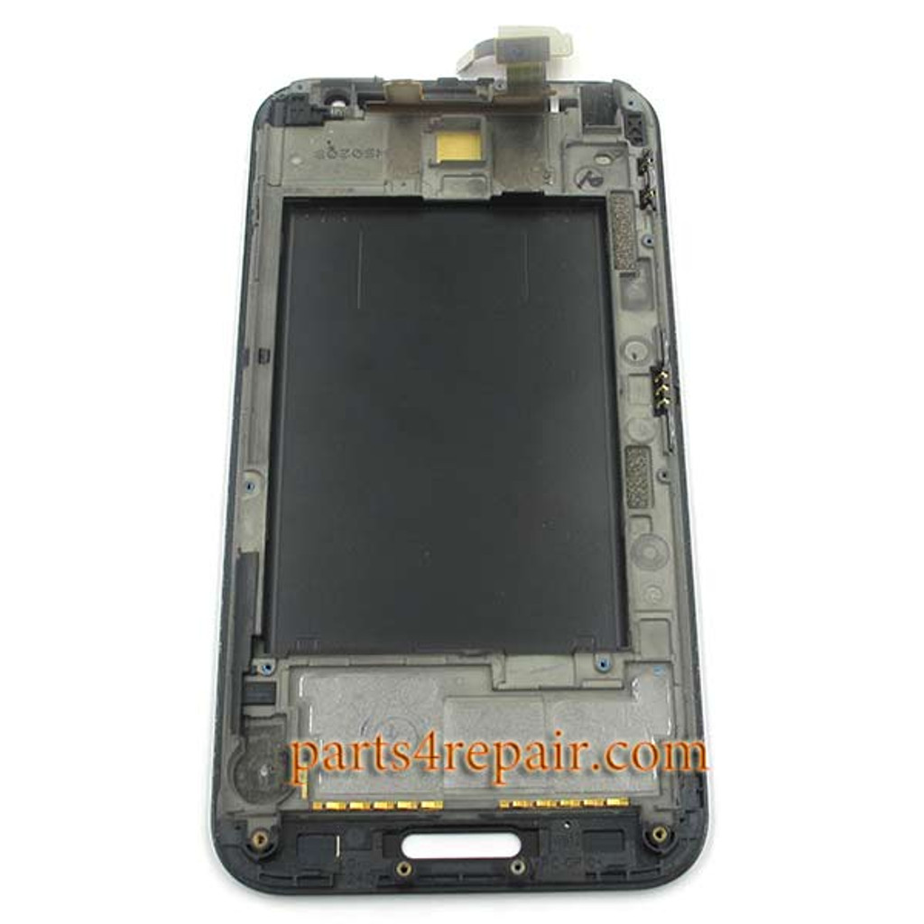 Complete Screen Assembly with Bezel for LG Optimus G Pro F240 -Black