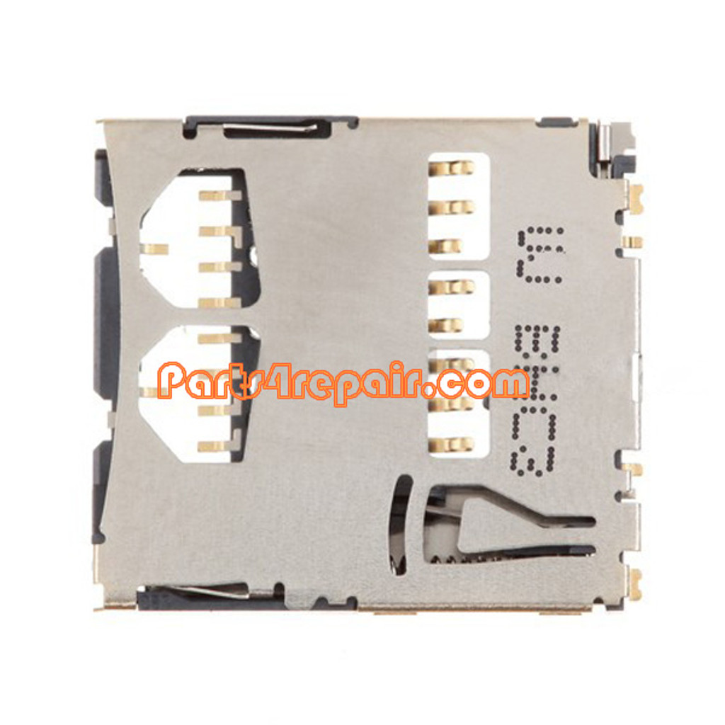 SD Card Holder Contact for Samsung Galaxy S II I9100 from www.parts4repair.com