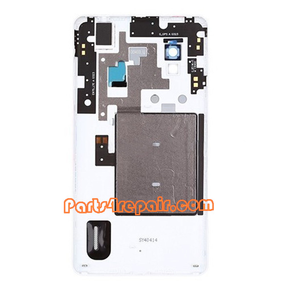 We can offer Back Cover for LG Optimus G E975 -White