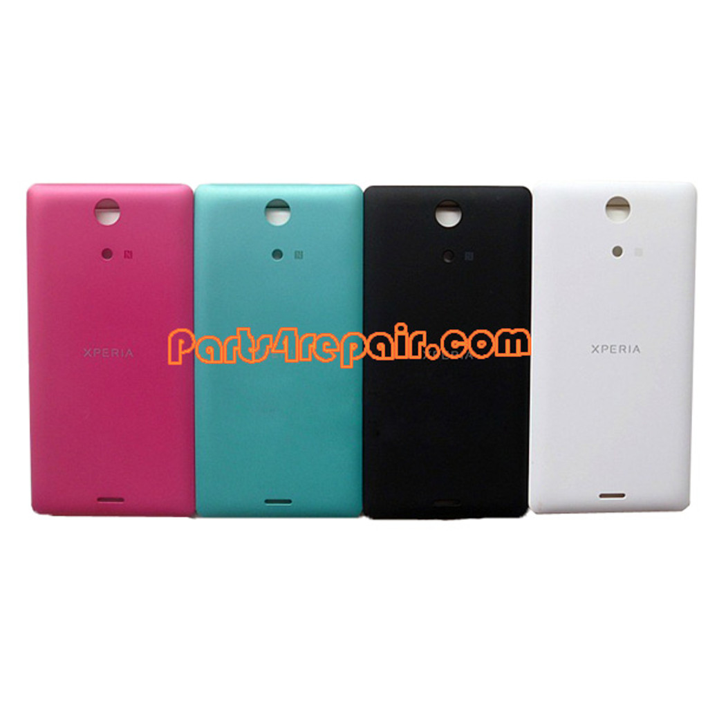 Back Cover for Sony Xperia ZR M36H -Green from www.parts4repair.com