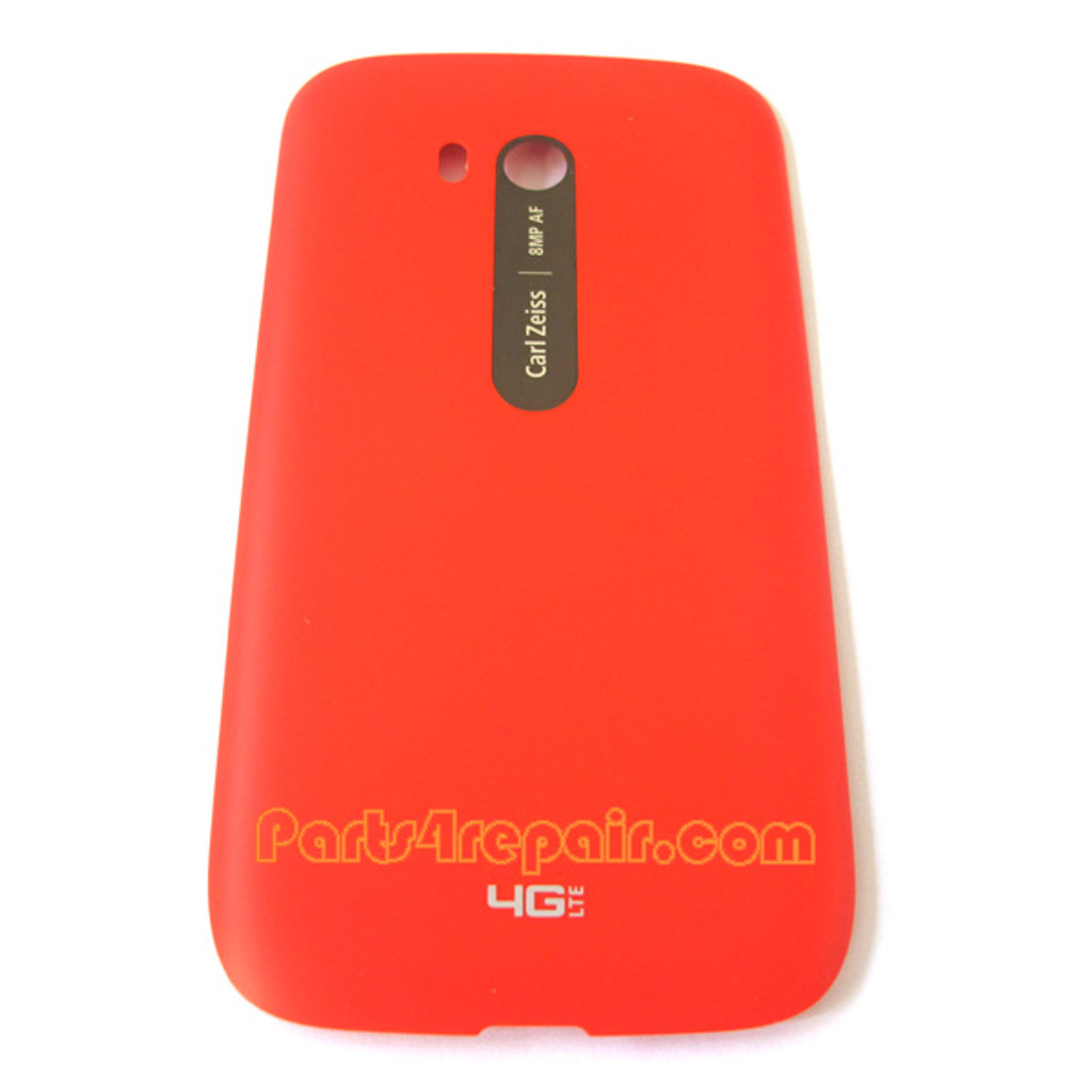 Back Cover with NFC for Nokia Lumia 822 -Red from www.parts4repair.com