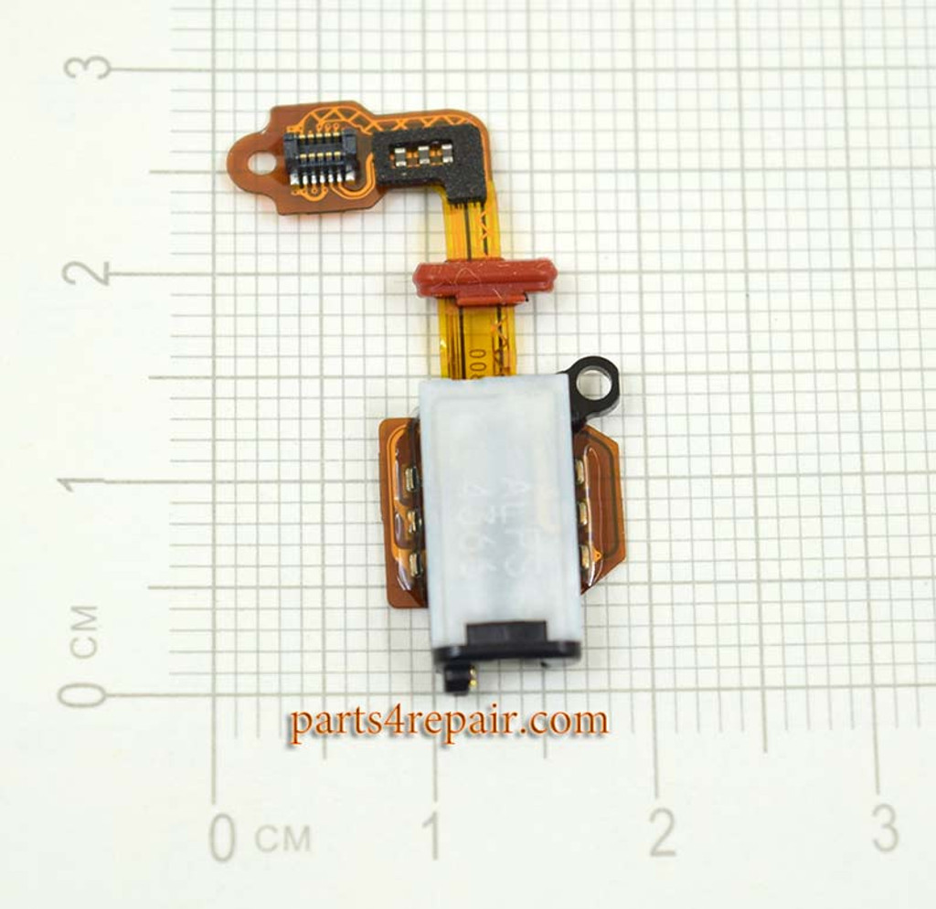 Earphone Jack Flex Cable for Sony Xperia Z Ultra XL39H from www.parts4repair.com