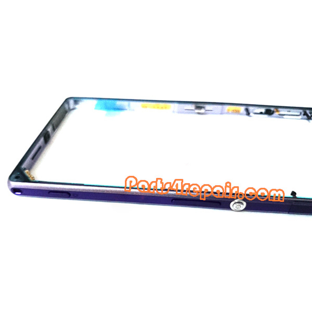 We can offer Middle Cover for Sony Xperia Z1 L39H -Purple