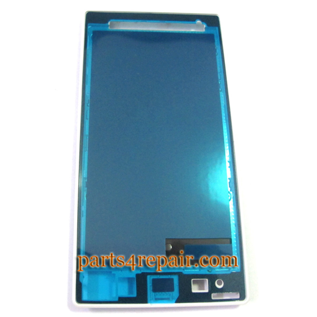 Front Housing Cover for Sony Xperia Z1 L39H -White from www.parts4repair.com