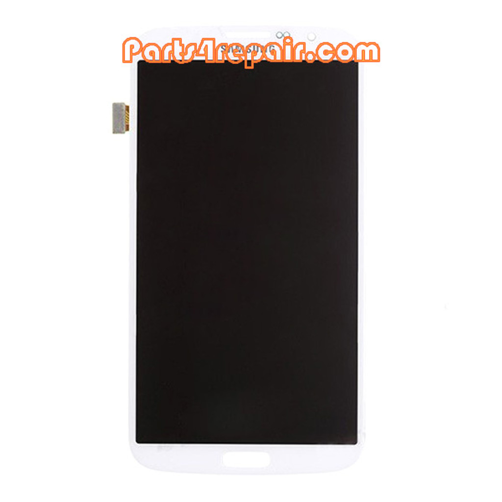 Complete Screen Assembly for Samsung Galaxy Mega 6.3 I9200 -White