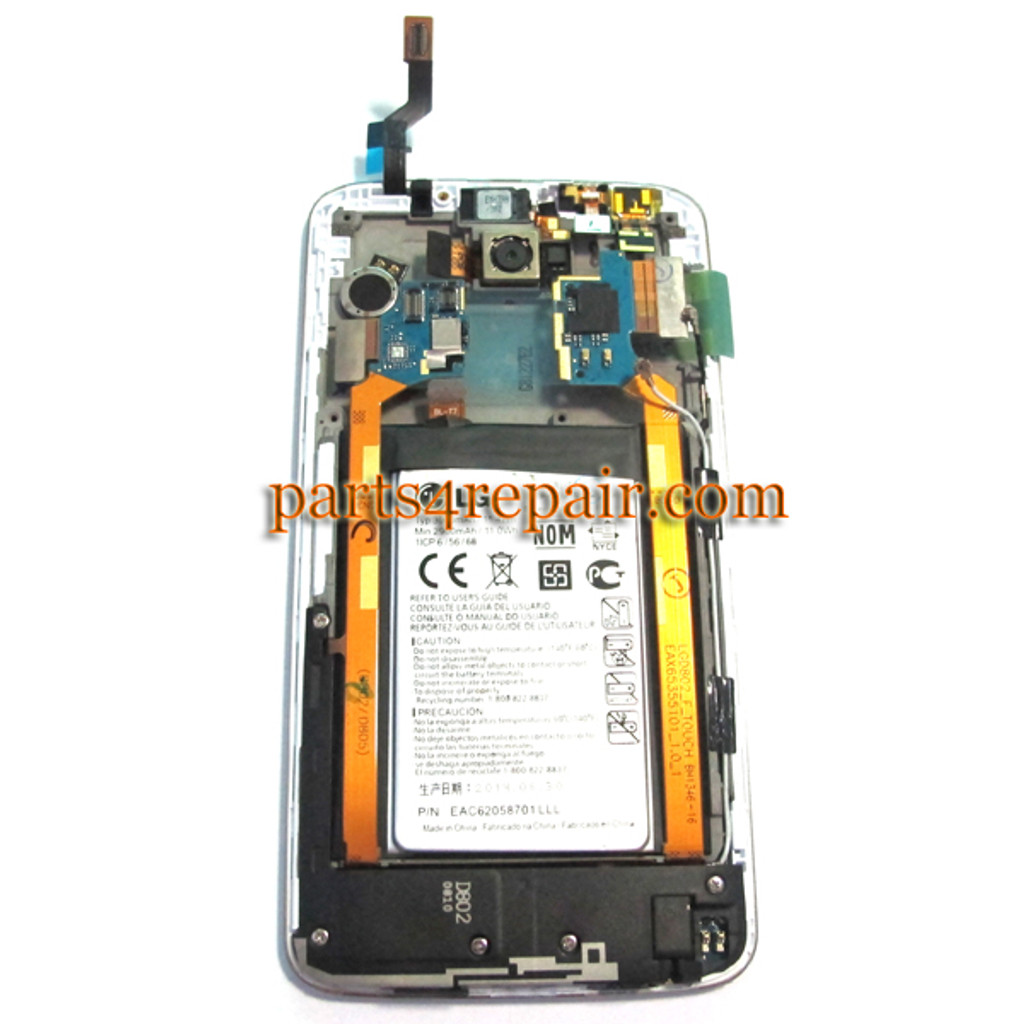 We can offer Complete Screen Assembly with Bezel & Battery for LG G2 D802