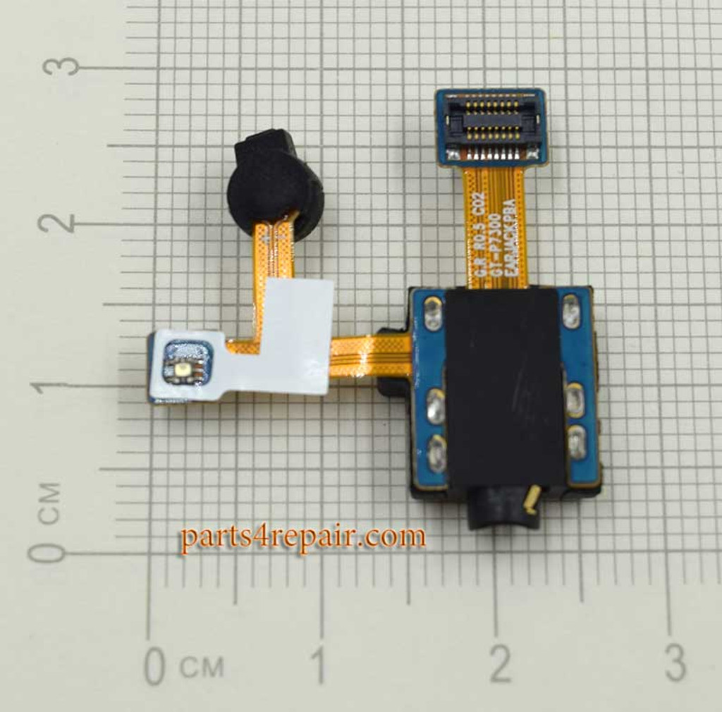 Earphone Jack Flex Cable for Samsung Galaxy Tab 8.9 P7300