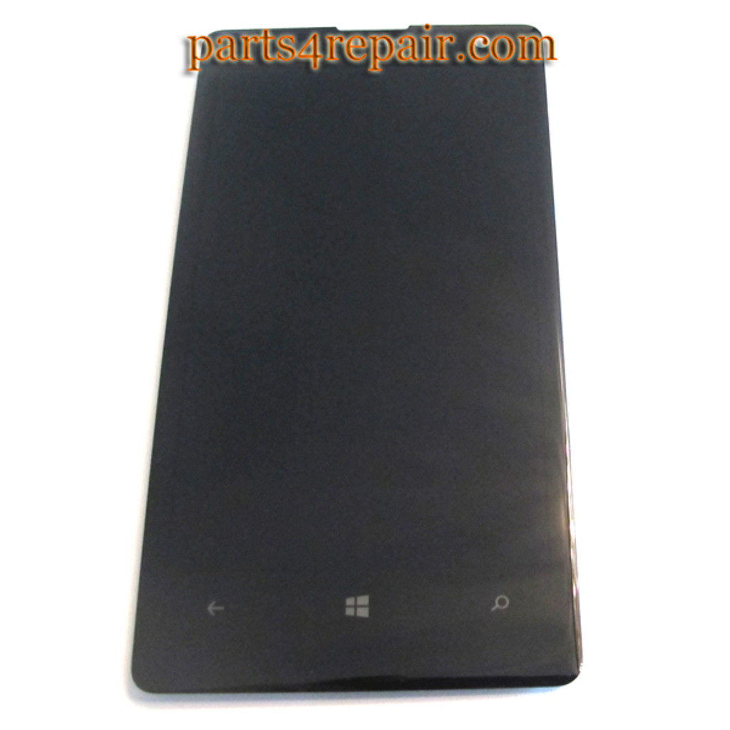 Complete Screen Assembly with Bezel for Nokia Lumia 1020 -Black from www.parts4repair.com
