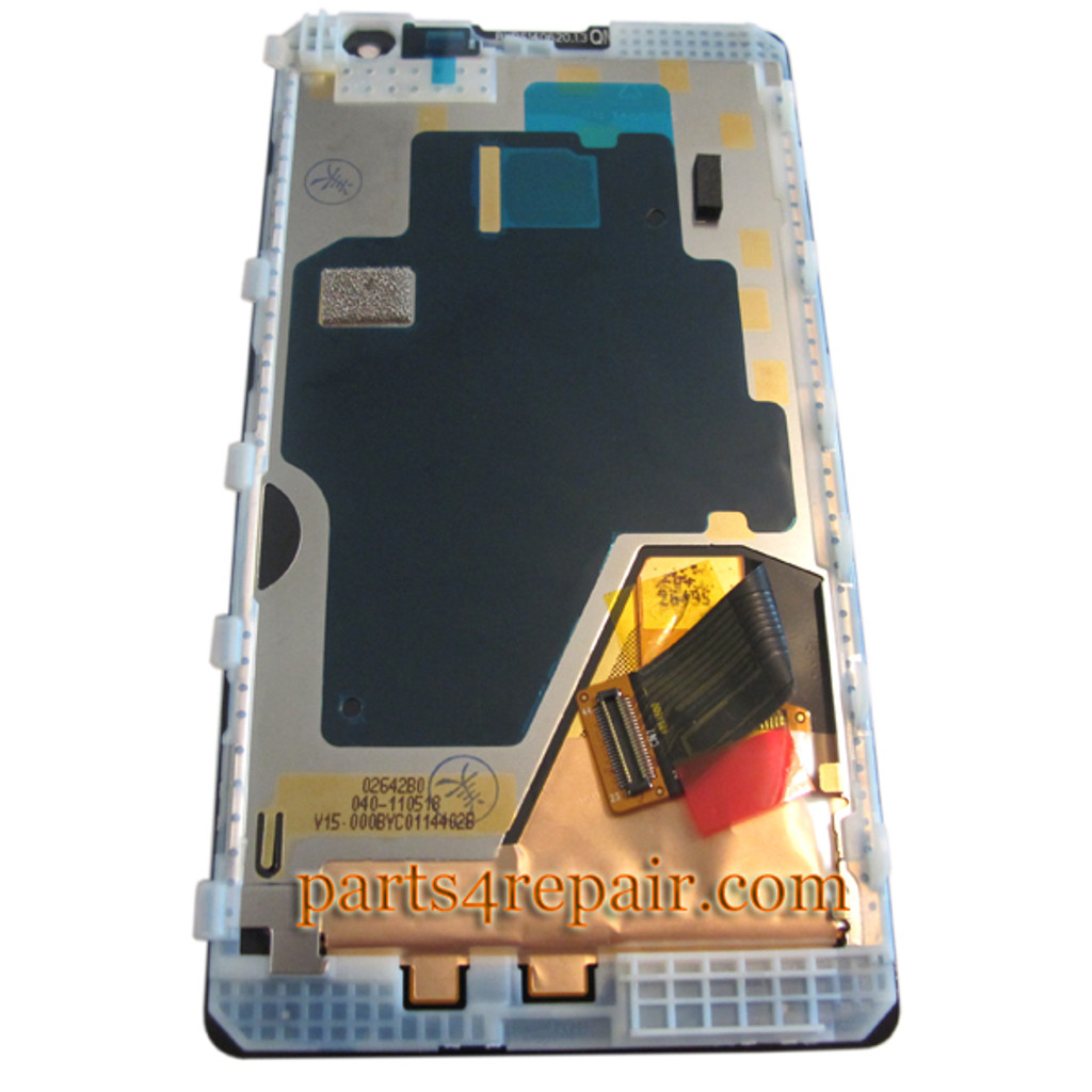 We can offer Complete Screen Assembly with Bezel for Nokia Lumia 1020 -Black