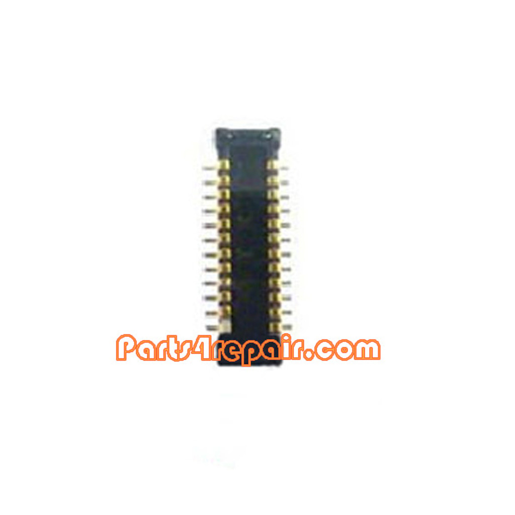 Front Camera FPC Connector for Samsung I9500 Galaxy S4 from www.parts4repair.com