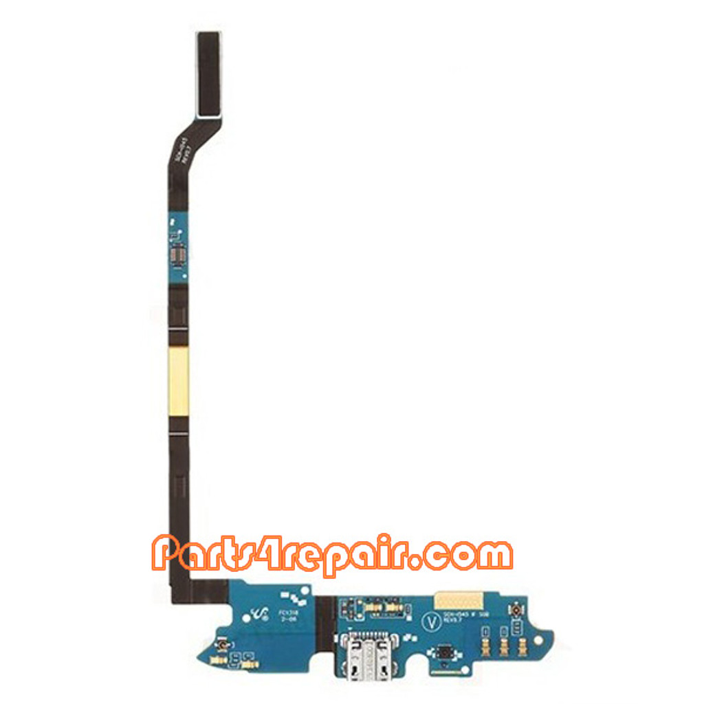 Dock Charging Flex Cable for Samsung Galaxy S4 CDMA I545 from www.parts4repair.com