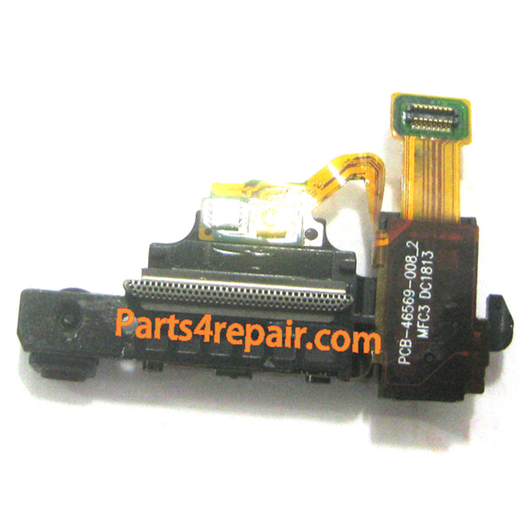 Earpiece Speaker Flex Cable for BlackBerry Z10 from www.parts4repair.comW