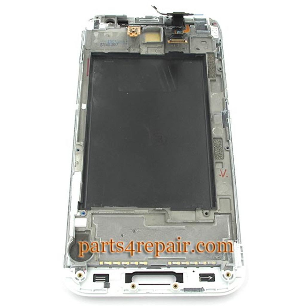 We can offer Complete Screen Assembly with Bezel for LG Optimus G Pro F240 -White